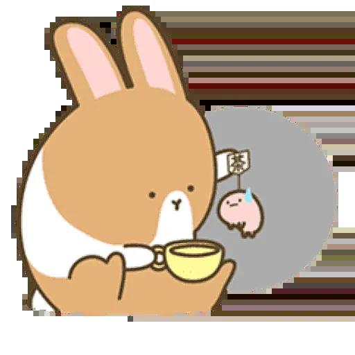 Donut Bunny Sticker messages sticker-2