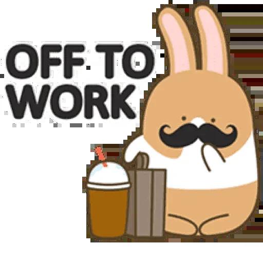 Donut Bunny Sticker messages sticker-11