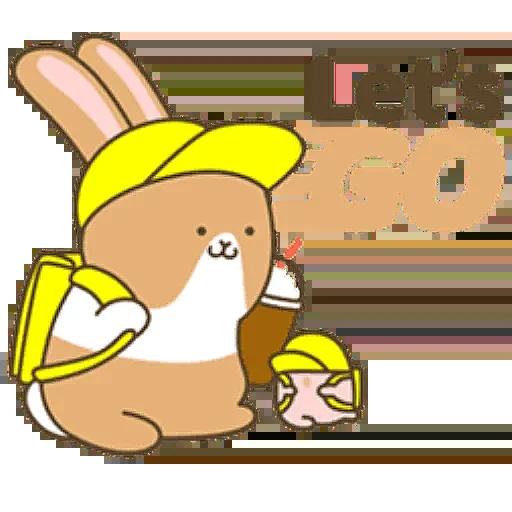 Donut Bunny Sticker messages sticker-0