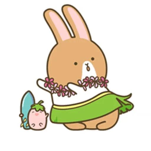 Donut Bunny Sticker messages sticker-6