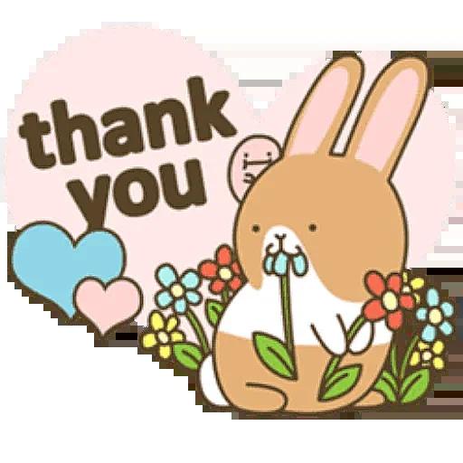 Donut Bunny Sticker messages sticker-3