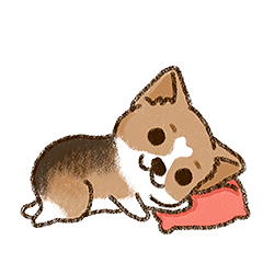 Cool Little Corgi messages sticker-7