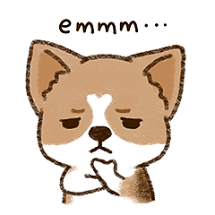 Cool Little Corgi messages sticker-9