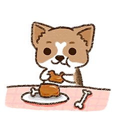 Cool Little Corgi messages sticker-6