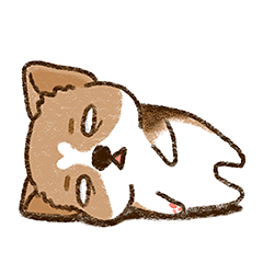 Cool Little Corgi messages sticker-3