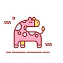 Cute animals Stickers messages sticker-3