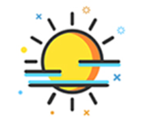 The weather Stickers messages sticker-3