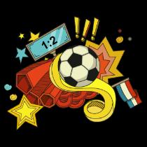 快乐足球炫酷贴图 messages sticker-2