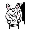 Pineapple Rabbit messages sticker-4