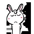 Pineapple Rabbit messages sticker-2