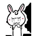 Pineapple Rabbit messages sticker-3