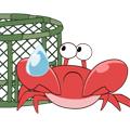 CrabbyCarl-Sticker messages sticker-0