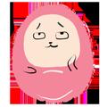 Pink Egg messages sticker-1