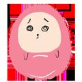 Pink Egg messages sticker-10