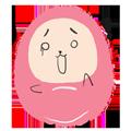 Pink Egg messages sticker-6