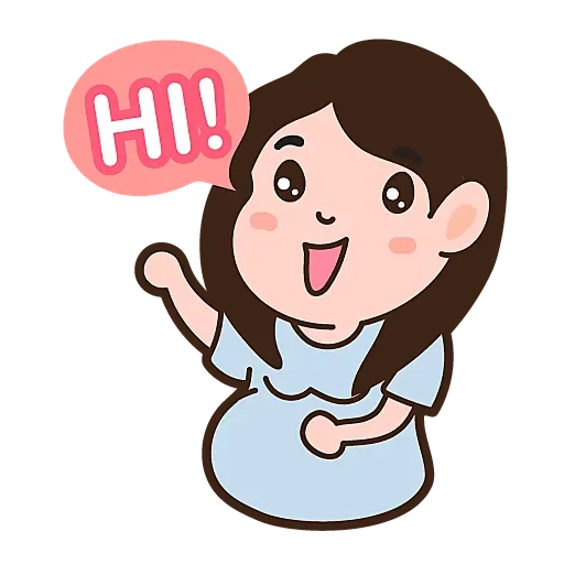 Happy life pregnant Mami messages sticker-3