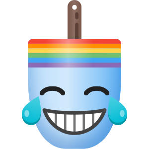 Buoymoji Rainbow messages sticker-2