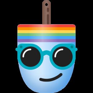 Buoymoji Rainbow messages sticker-11