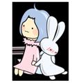 Rabbit Snail messages sticker-9