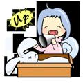 Rabbit Snail messages sticker-3