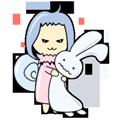 Rabbit Snail messages sticker-0