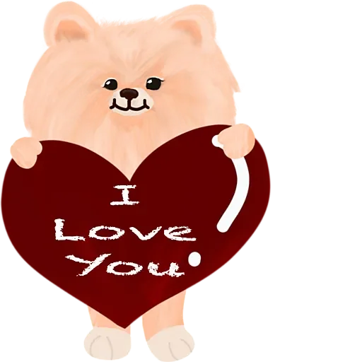 Cool KK Lucky Poodle messages sticker-1