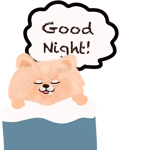 Cool KK Lucky Poodle messages sticker-5