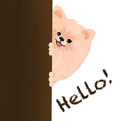 Cool KK Lucky Poodle messages sticker-3
