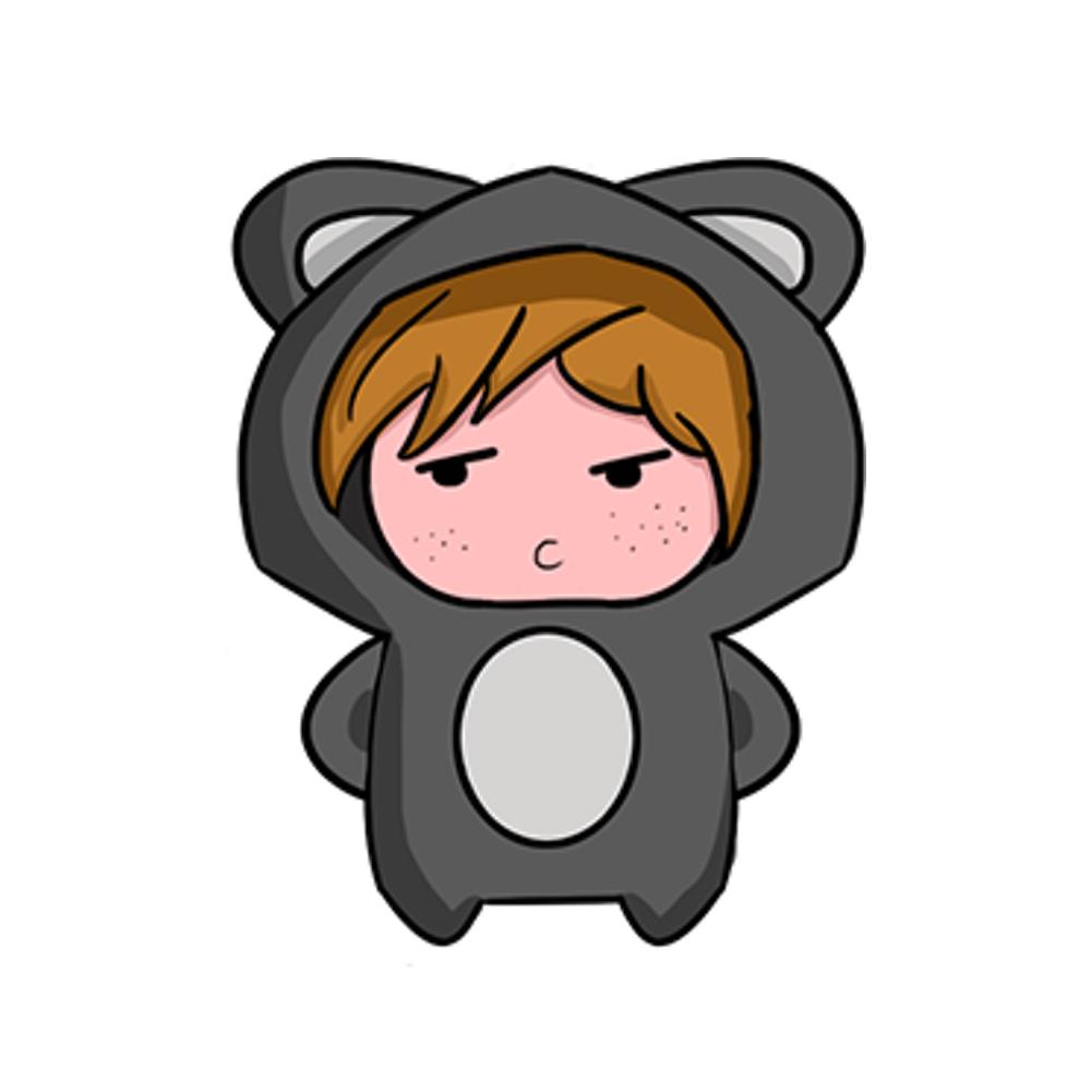 Bear baby Sticker messages sticker-2