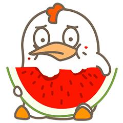 Little Fat Chicken messages sticker-9