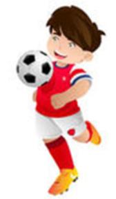 Love football boy Stickers messages sticker-4