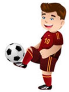 Love football boy Stickers messages sticker-1