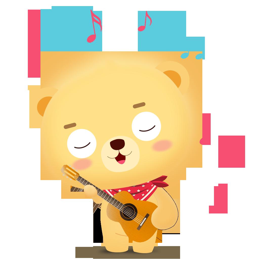 Cub bear messages sticker-5