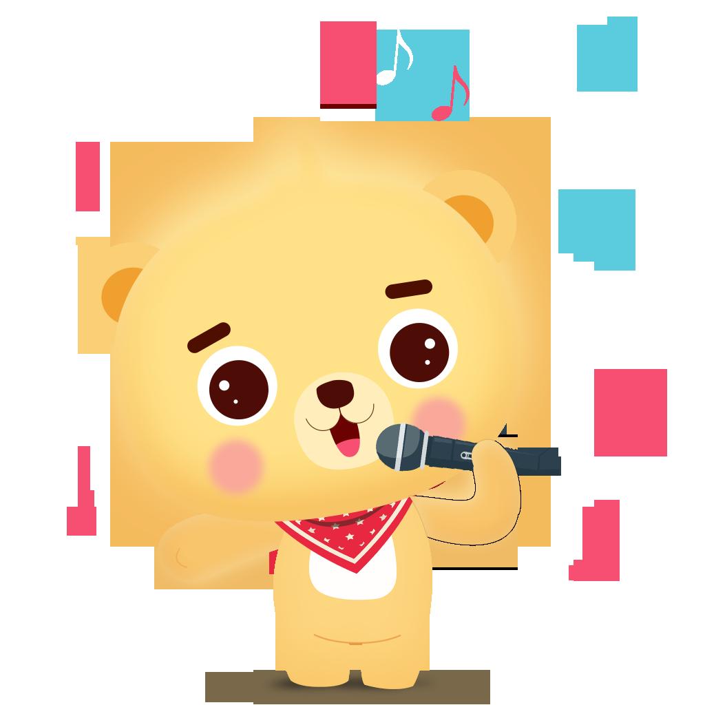Cub bear messages sticker-2