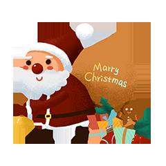 SantaClausMood messages sticker-6