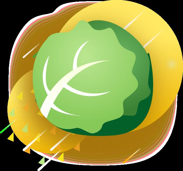 GreenSticker-vegetables messages sticker-8