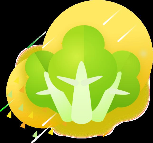 GreenSticker-vegetables messages sticker-1