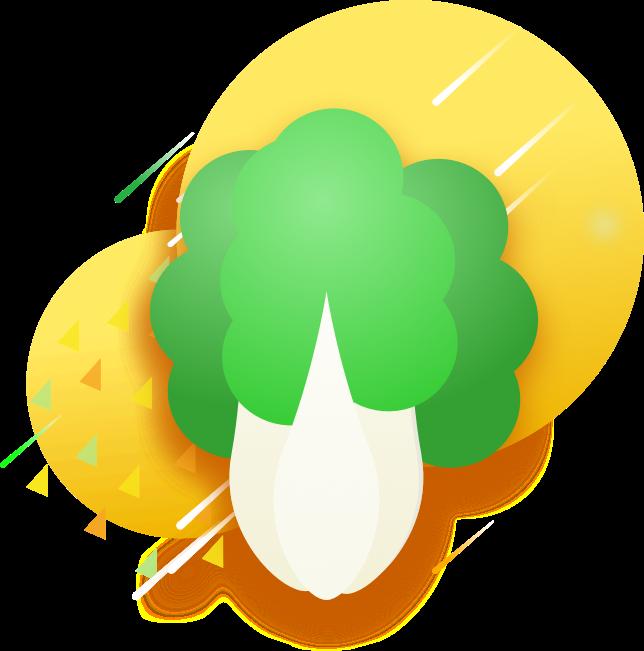 GreenSticker-vegetables messages sticker-4