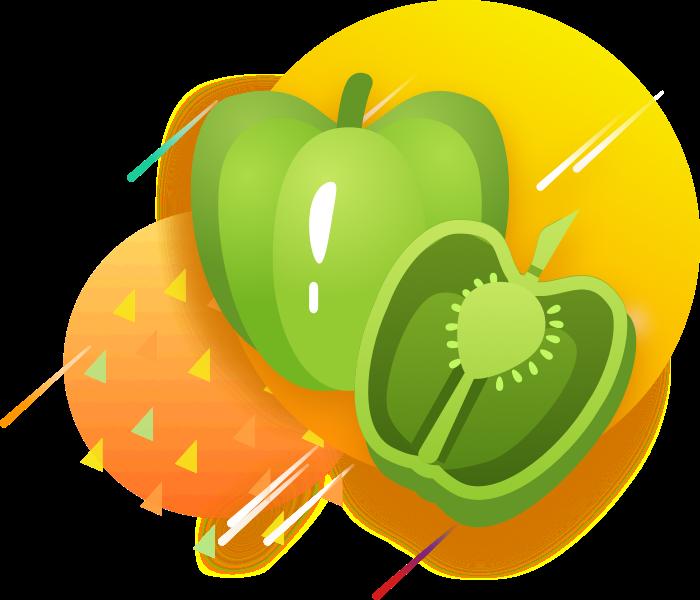 GreenSticker-vegetables messages sticker-5