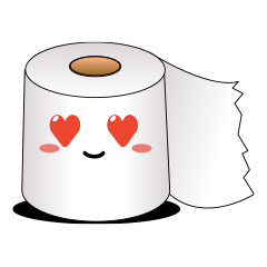 RollPaperEmoticons messages sticker-2