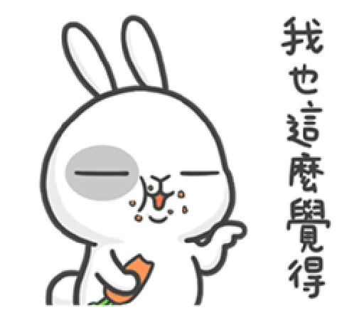 爱顽兔 messages sticker-8