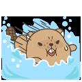 MrBeaver-表情包贴纸 messages sticker-5