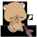 MrBeaver-表情包贴纸 messages sticker-11