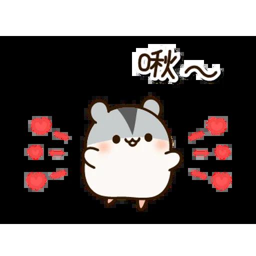 麻薯鼠鼠 messages sticker-2