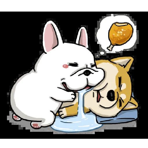 茶包与饭丸 messages sticker-7