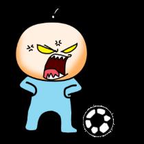 各种足球表情贴图 messages sticker-4