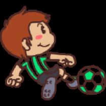 各种足球表情贴图 messages sticker-6