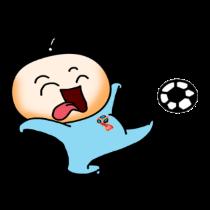 各种足球表情贴图 messages sticker-3