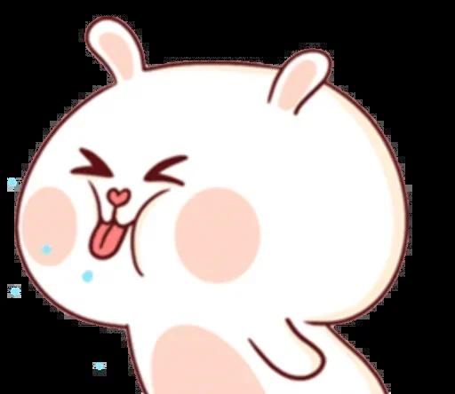 CuteBunnyBaby messages sticker-0
