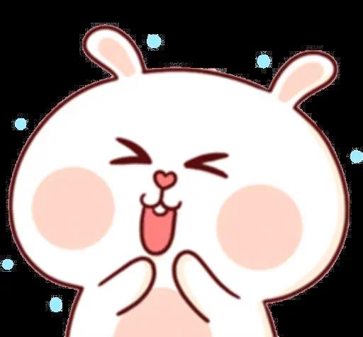 CuteBunnyBaby messages sticker-3